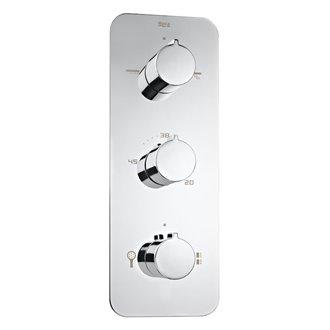 Grifo ducha termostático 4 vías Puzzle Roca