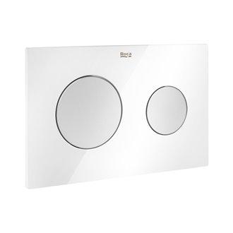 Placa PL10 Dual Combi (Blanco y Gris) One Roca