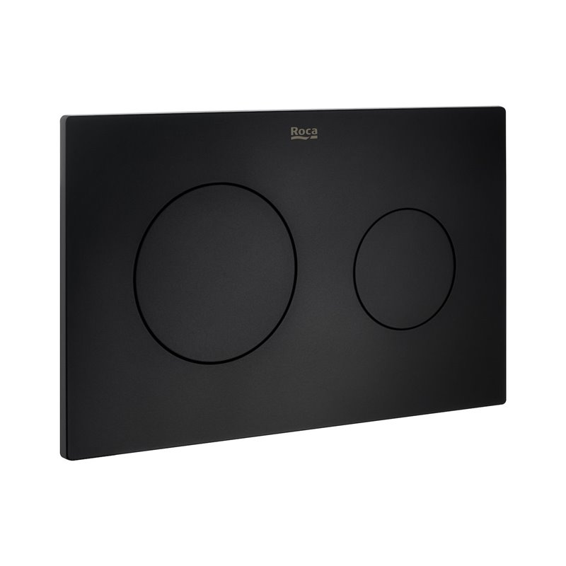 Placa PL10 Dual Negro Mate In Wall One Roca