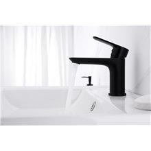 Grifo de lavabo Cassio negro de GME