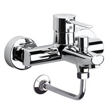 Grifo de bañera-ducha enlace pared Targa Roca