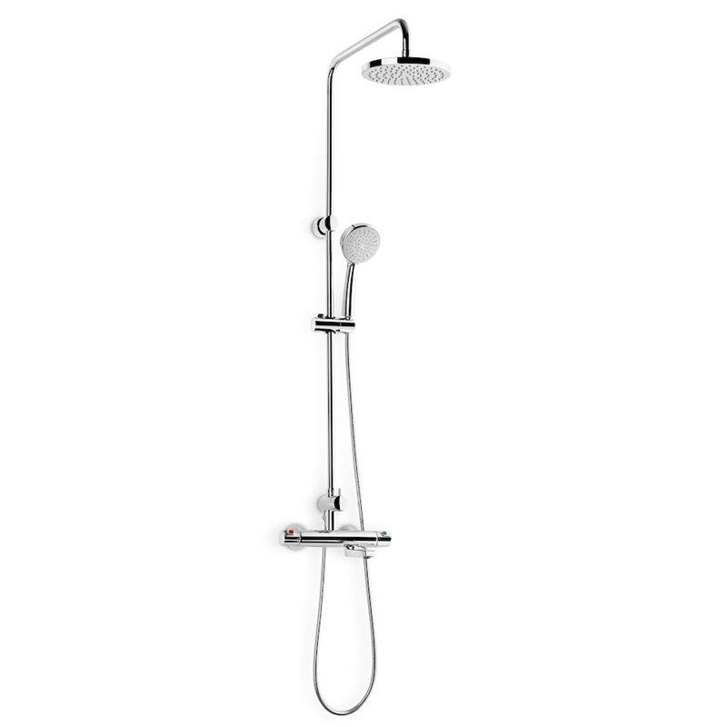 Columna baño-ducha caño retráctil Victoria Roca