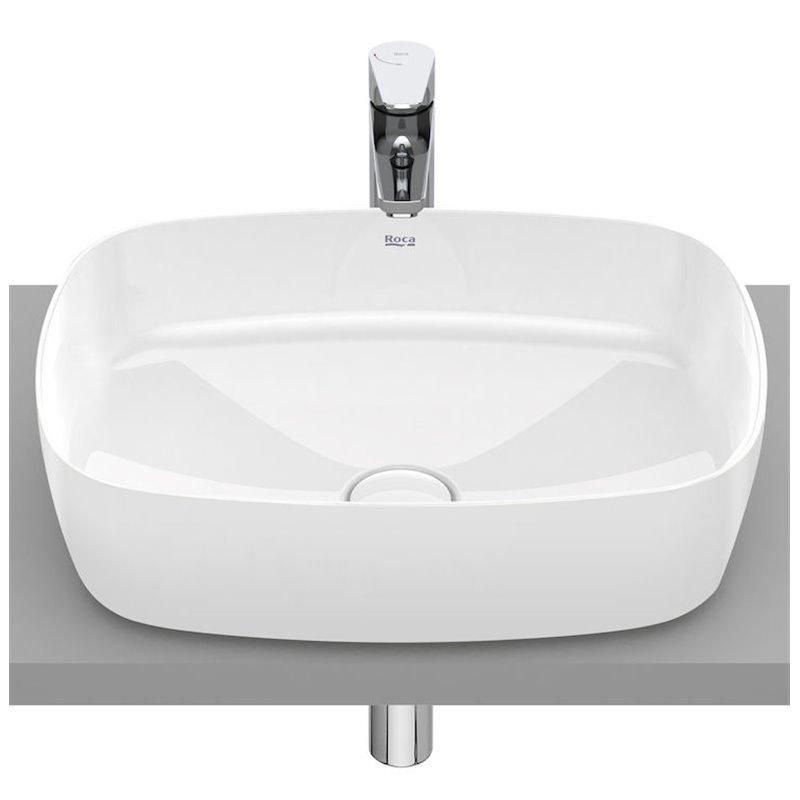 Lavabo sobrencimera Inspira Soft Roca 50x37