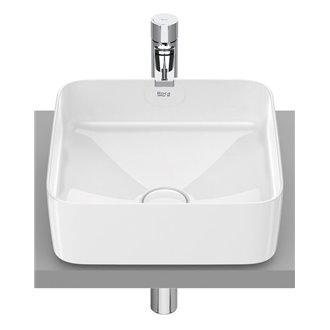 Lavabo sobrencimera Inspira Square Roca 37x37 cm
