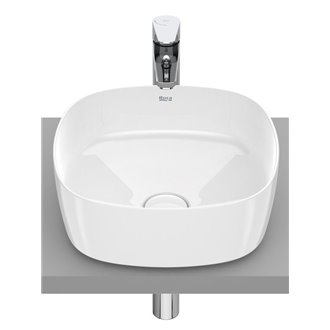 Lavabo sobrencimera Inspira Soft Roca 37x37