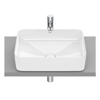 Lavabo sobrencimera Inspira Square Roca 50x37 cm