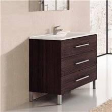 Mueble con lavabo Roble Sinatra Ribera 90 TEGLER