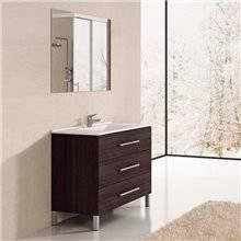 Mueble con lavabo Roble Sinatra Ribera 100 TEGLER