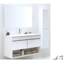 Conjunto de baño mueble con espejo Nebari Tegler