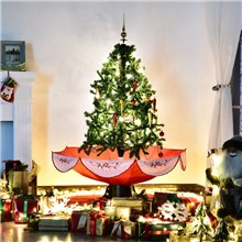 Árbol de Navidad con función de nieve 140cm Homcom