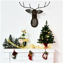 Mini árbol de Navidad de sobremesa 60cm Homcom