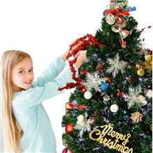 Árbol de Navidad pequeño con iluminación 90cm...
