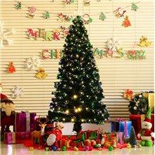Árbol de Navidad grande con iluminación 180cm...