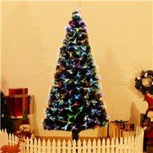 Árbol de Navidad grande con fibra óptica 180cm...