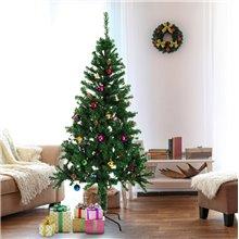 Árbol de Navidad con adornos 180cm Homcom