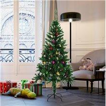 Árbol de Navidad con adornos 150cm Homcom