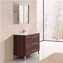 Mueble con lavabo Fresno Tea Ribera 90 TEGLER