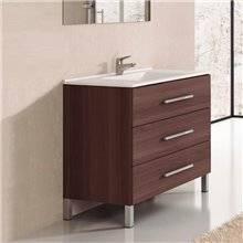 Mueble con lavabo Fresno Tea Ribera 100 TEGLER