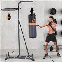 Sacos de boxeo con soporte regulable Homcom