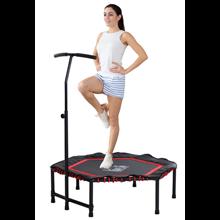 Trampolín profesional para fitness Ø122cm rojo...