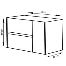 Mueble con lavabo 80 Crema Ítaca TEGLER