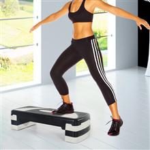 Tabla de step antideslizante para fitness Homcom