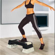 Tabla de step ajustable para fitness Homcom