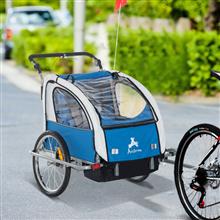Remolque infantil para bicicleta de 2 plazas...