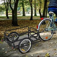 Remolque de bicicleta para carga 50kg PawHut