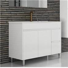 Mueble con lavabo 80 Blanco brillo Ísquia TEGLER