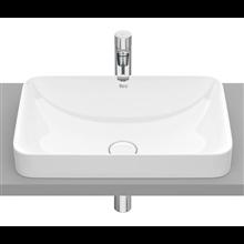 Lavabo encastrado Inspira Blanco Square 55x37 Roca