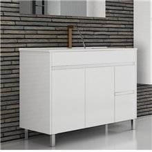 Mueble con lavabo 100 Blanco brillo Ísquia TEGLER