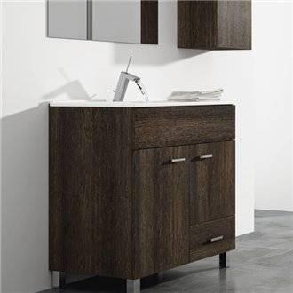 Mueble con lavabo 80 Roble Evasión Samos TEGLER