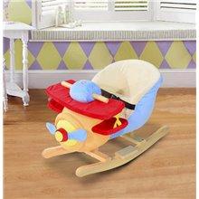 Caballo balancín con forma de avión para bebé...