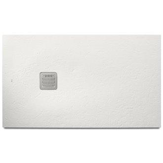 Plato de ducha 140x70cm blanco mate Terran Basic Roca