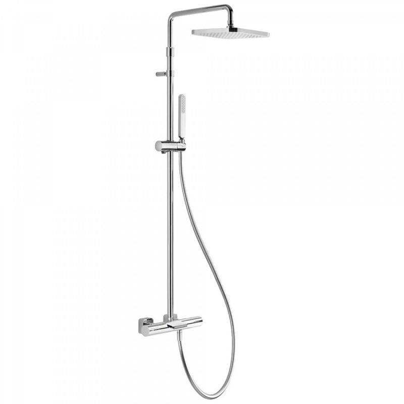 Conjunto de bañera-ducha termostática ECO Loft-Tres
