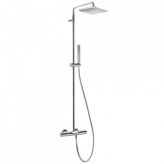 Conjunto de bañera-ducha termostática ECO Class-Tres barra telescópica