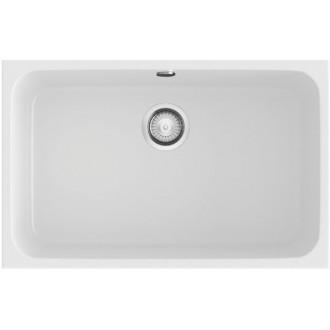 Fregadero de 1 cuba Blanco 74 x 44,5 cm Gandia Poalgi
