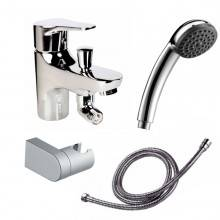 Grifo de bañera con kit de ducha Start