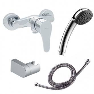 Grifo de ducha con kit de ducha Start
