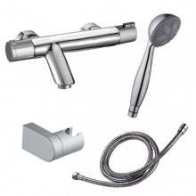Grifo termostático bañera Nine Urban con kit de ducha