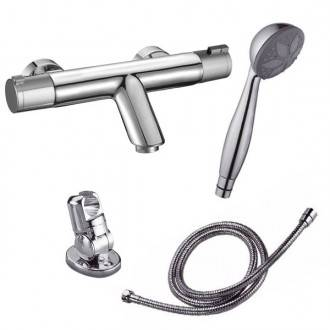 Grifo termostático para bañera Nine Urban + kit de ducha