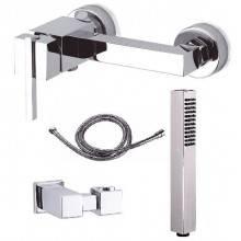 Grifo lateral de ducha Saona con kit de ducha