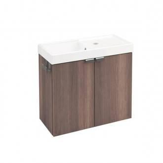 Mueble 2 puertas 50cm Fresno B-Box BATH+