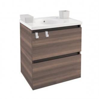 Mueble con lavabo porcelana 60cm Fresno B-Box BATH+