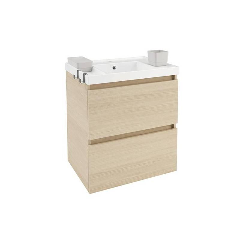 Mueble b resina 60cm roble materiales de f brica - Mueble de resina para exterior ...