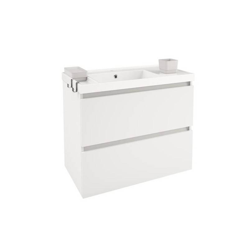 Mueble b resina 80cm blanco mate o brillo materiales de - Mueble de resina para exterior ...
