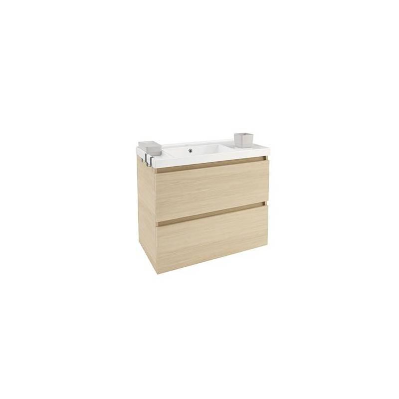 Mueble b resina 80cm roble materiales de f brica - Mueble de resina para exterior ...