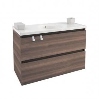 Mueble con lavabo porcelana 100cm Fresno  B-Box BATH+