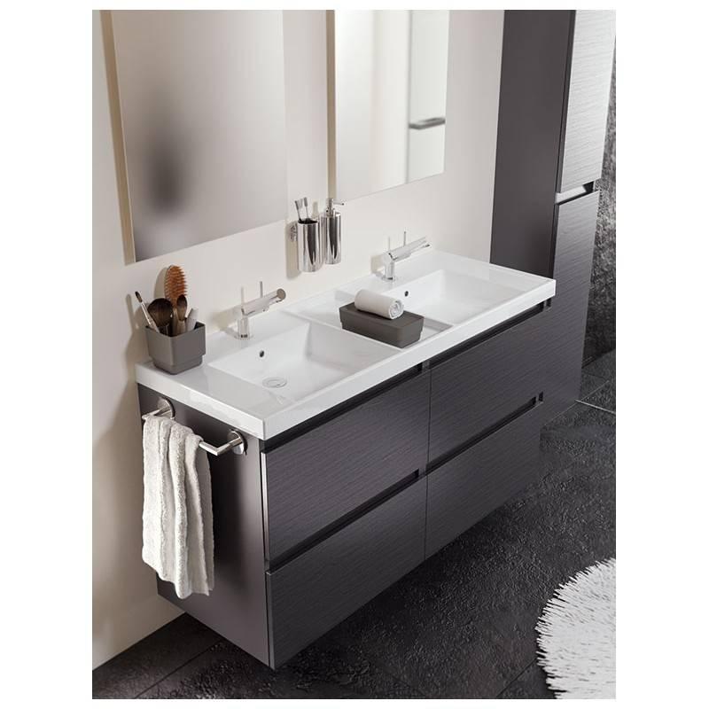 Mueble b resina 120cm antracita pizarra materiales de - Lavabos de pizarra ...